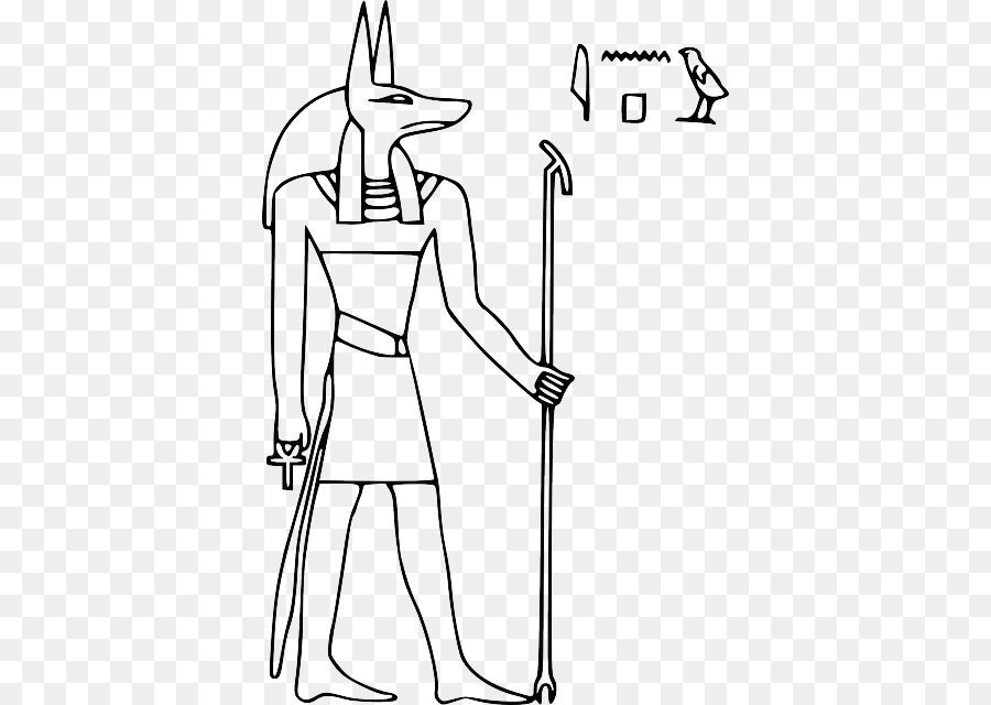 Los dioses del antiguo egipto Anubis libro para Colorear - Anubis ...