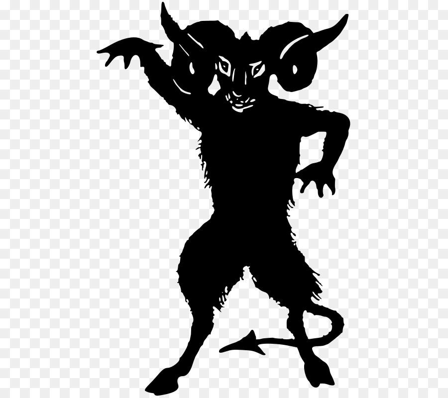 Luzifer Teufel Silhouette Dämon Clip art Teufel png