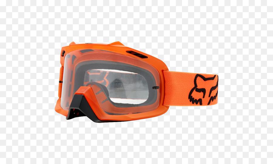 efaa600a5 Óculos Fox Racing De Motocross Óculos De Acessórios De Vestuário - fox  cabeça