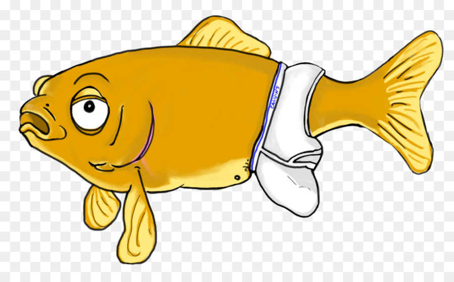 Goldfish Vertebrate Aquarium Fish Feed Clip Art Fish Png Download
