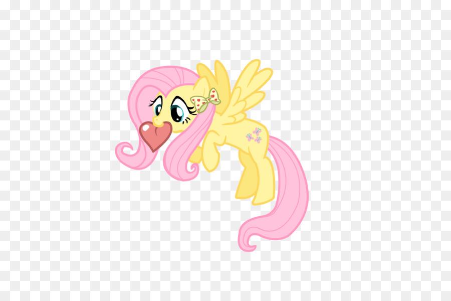 Fluttershy Pony Rainbow Dash el Día de san Valentín Calvados - el ...