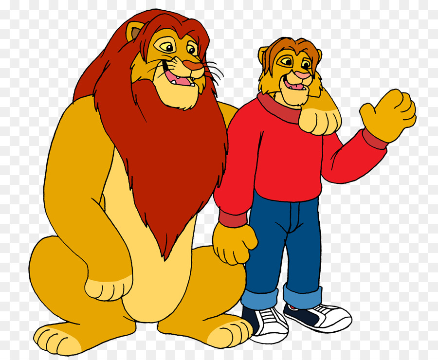 Simba and nala human