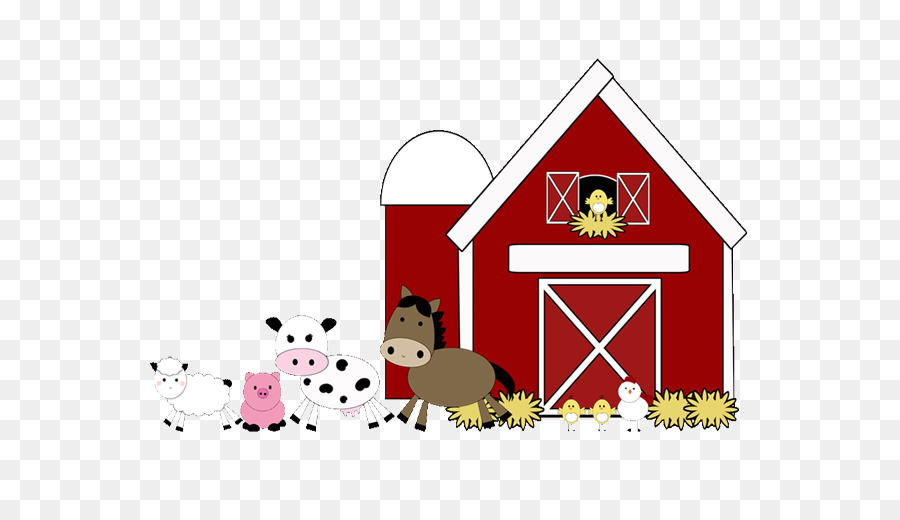 Farm Barn Pen Livestock Clip Art