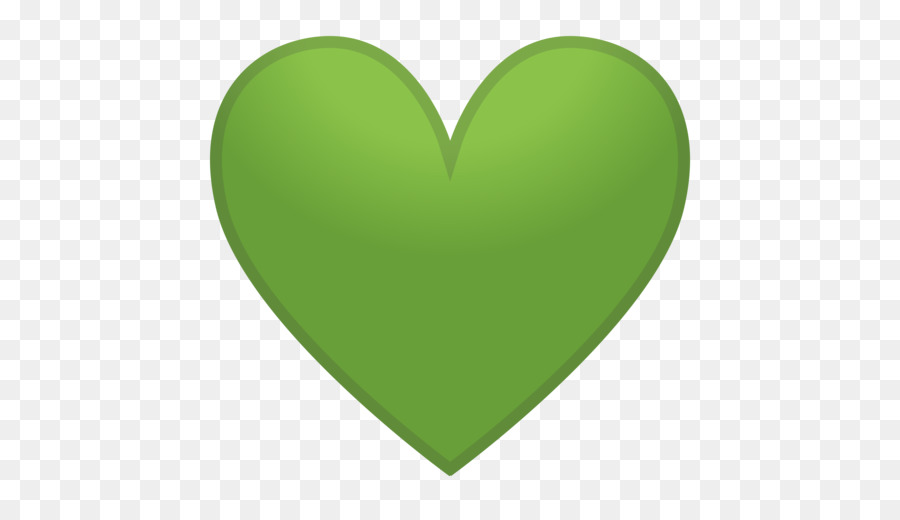 Green Emoji Heart Emoticon Symbol Emoji 512512