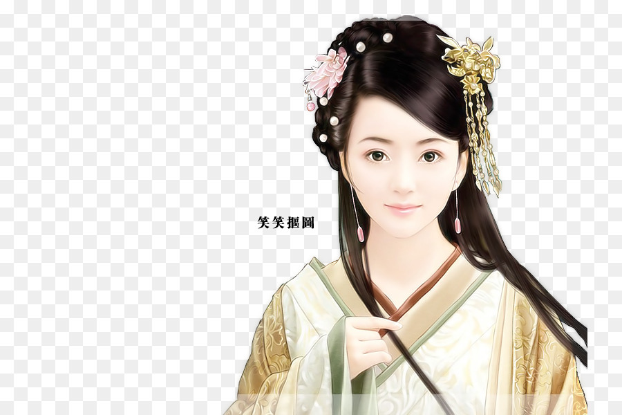 China Malerei Asiatische Kunst Frau China Png Herunterladen