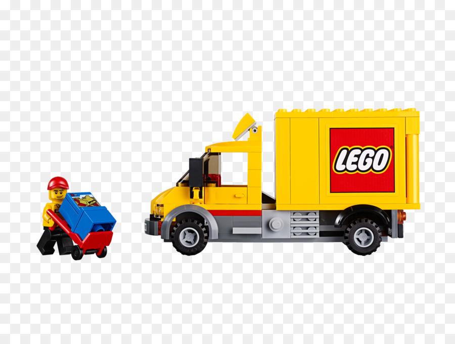 Camión de LEGO 60097 de la Ciudad Plaza de la Ciudad de Lego City ...