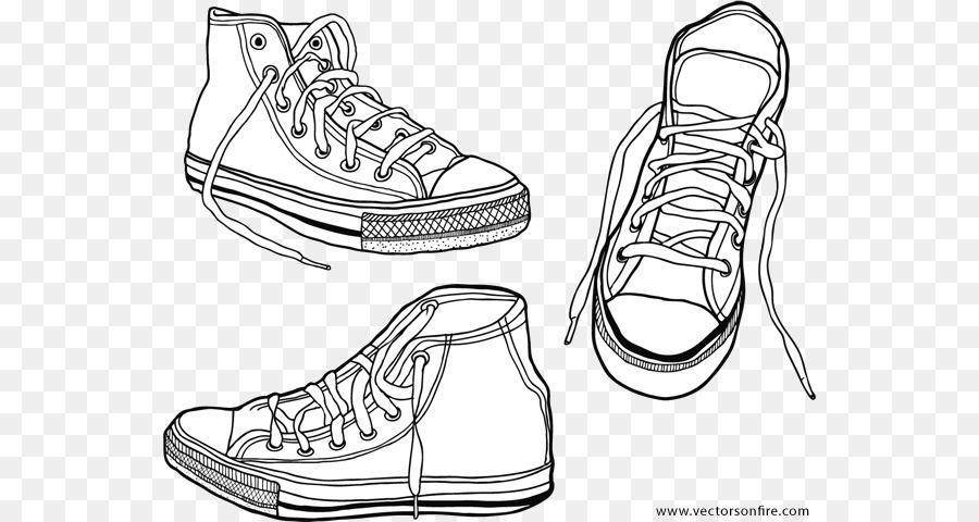 La Fuerza Aérea Zapatillas Converse Zapato - diseño png dibujo ...