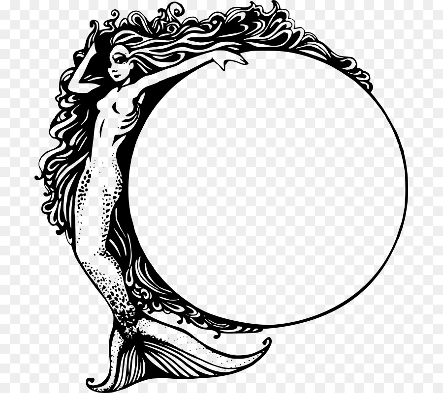 Mermaid Drawing Clip Art   Mermaid