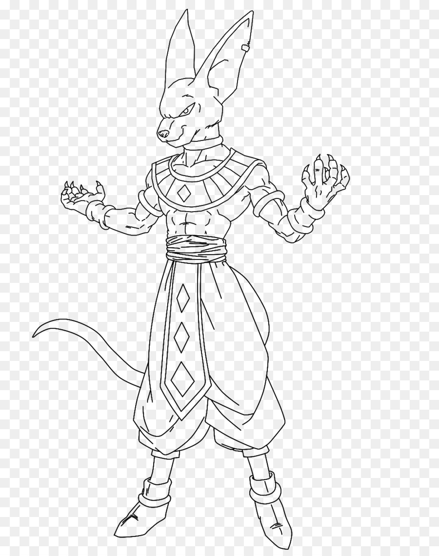 Beerus Goku Vegeta Coloring book Dragon Ball Xenoverse 2 - goku png ...