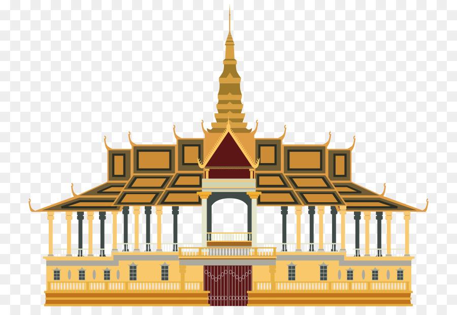 Royal Palace, Phnom Penh Grand Palace Clip-art - Palace png ...