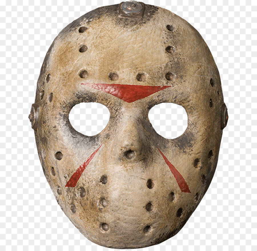 jason voorhees friday the 13th goaltender mask costume - mask png