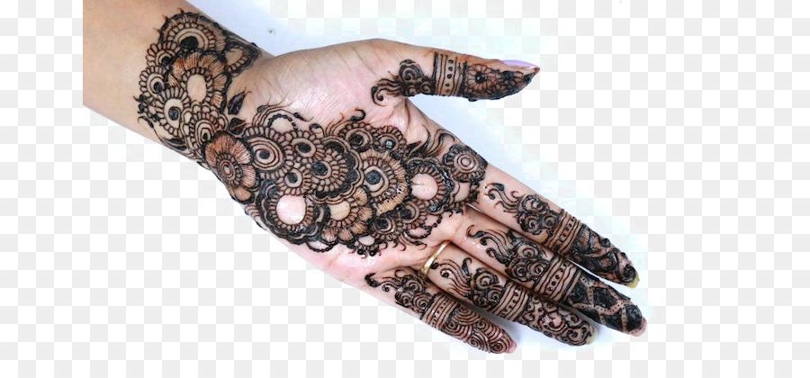 Mehndi Henna Tattoo Hand Design Png Download 715 402 Free