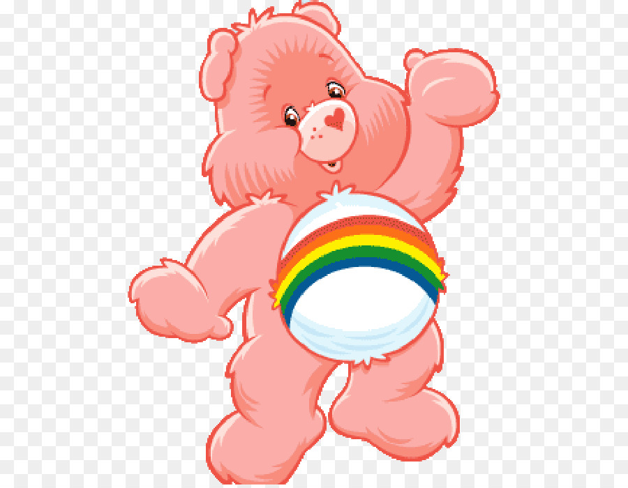 Care Bears Cheer Bear Animation Clip Art Tragen Png Herunterladen