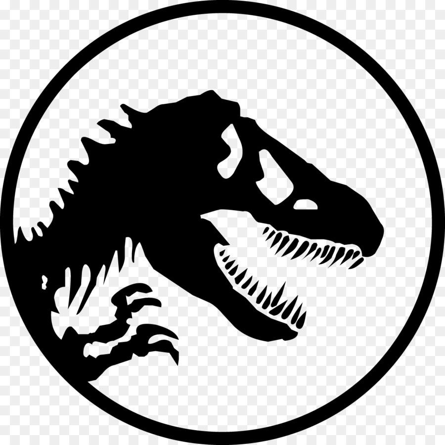 Youtube Jurassic Park Logo Silhouette Dinosaur Vector