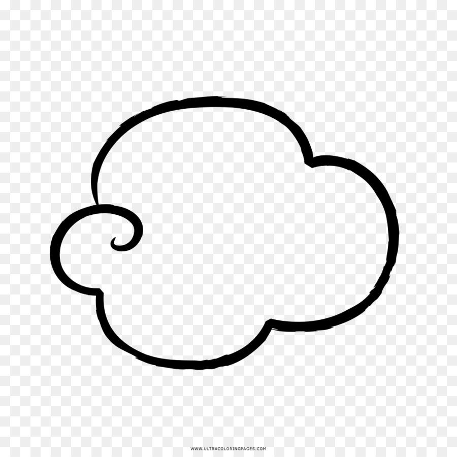 çizim Bulut Boyama Kitabı Boyama Bulut Png Indir 10001000