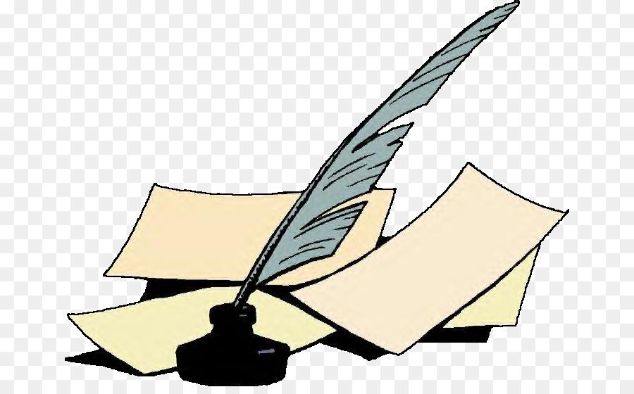 paper quill inkwell fountain pen clip art pen png download 716 rh kisspng com