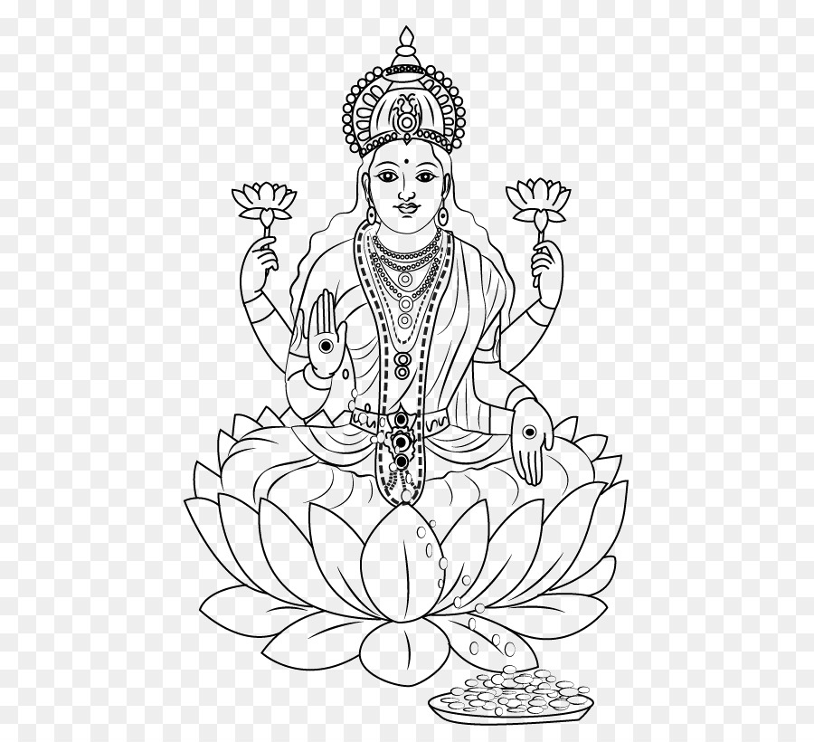 Ganesha Saraswati, Lakshmi Dibujo Devi - ganesha png dibujo ...