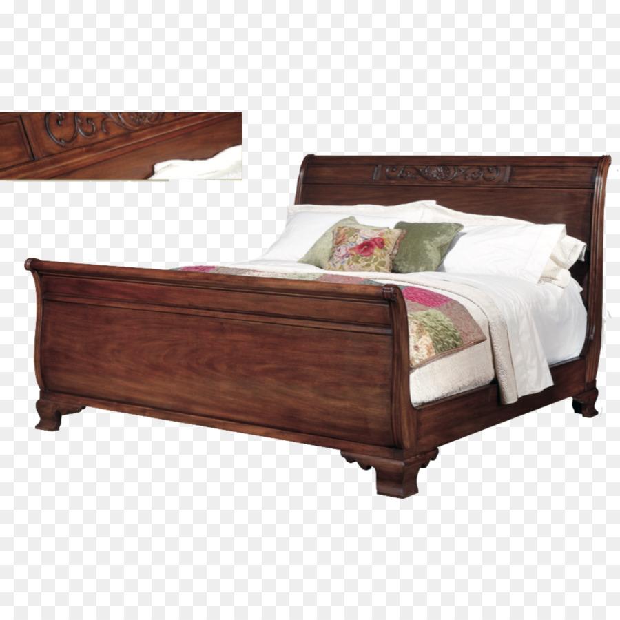 Marco de la cama con mesitas de noche el Colchón de la cama de ...