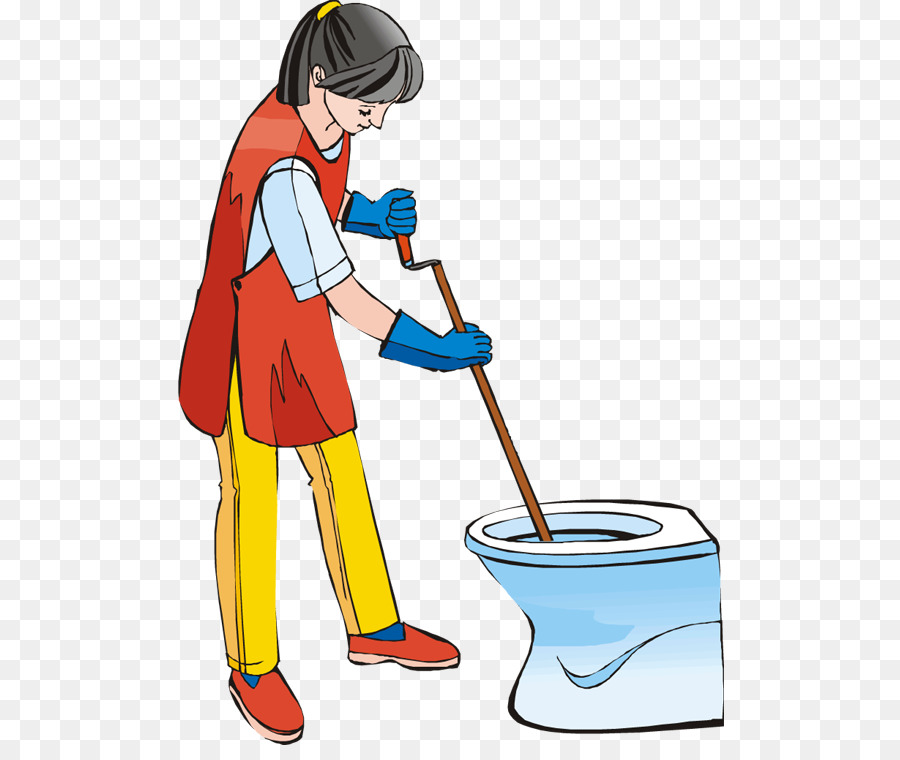 Toilet Bathroom Janitor Cleaning Clip Art Toilet Png Download
