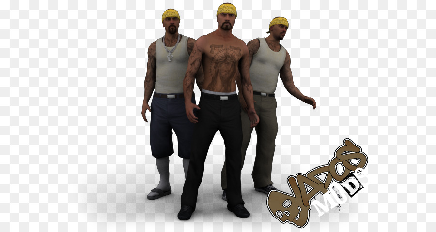 Grand Theft Auto San Andreas Professional png download - 640