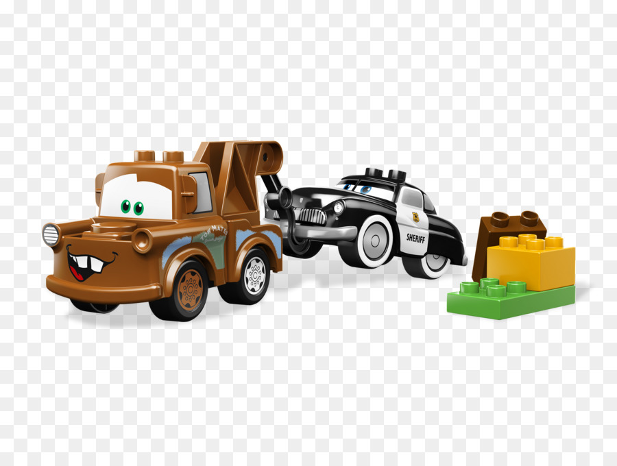Mater Lightning Mcqueen Cars Toy Lego Duplo Cars Png Download