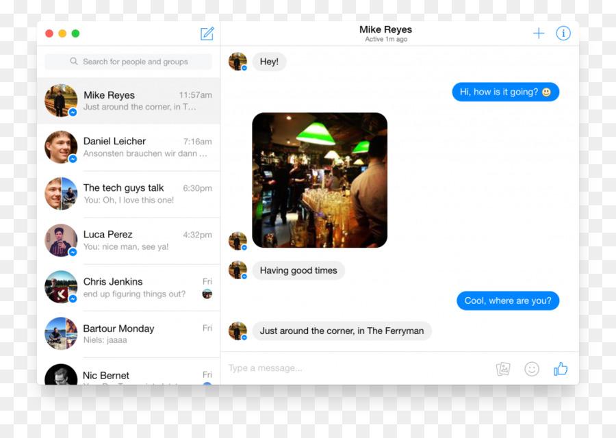 facebook messenger web browser