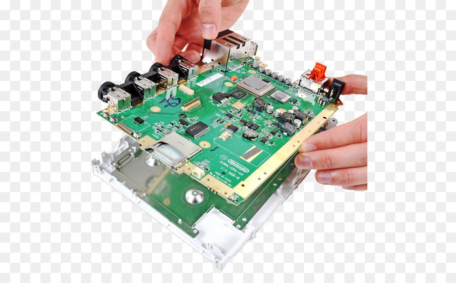 microcontroller wii u gamecube motherboard nintendo png download rh kisspng com