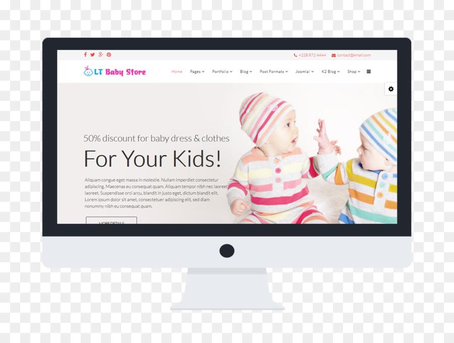 Template Joomla Responsive web design Hikashop E-commerce ...