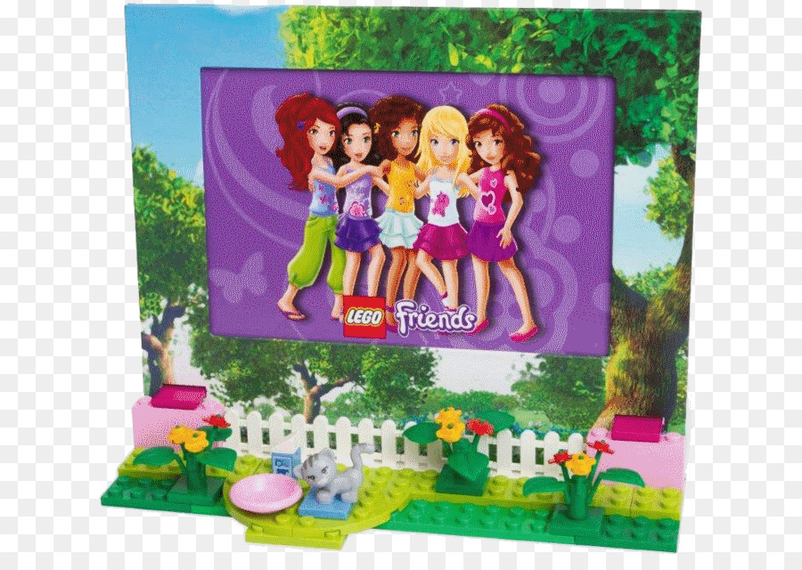 LEGO Friends Toy block LEGO 41110 Friends Birthday Party - toy png download - 690*629 - Free Transparent Lego png Download.