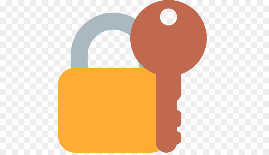 Emojipedia Lock Key Computer Icons Emoji Png Download 512512