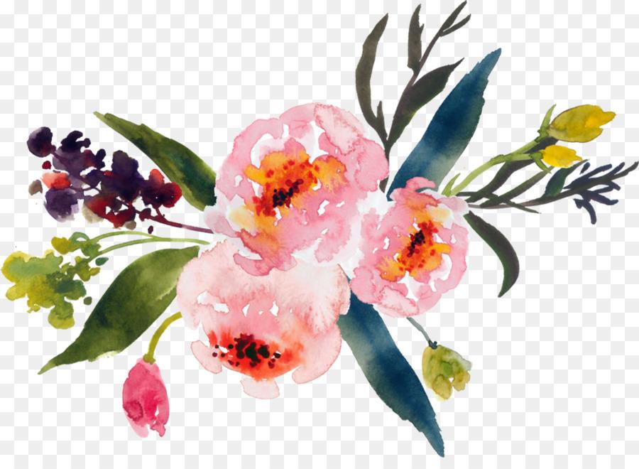 çiçekler Suluboya çiçek Tasarım çiçek Buketi Boyama Suluboya çiçek