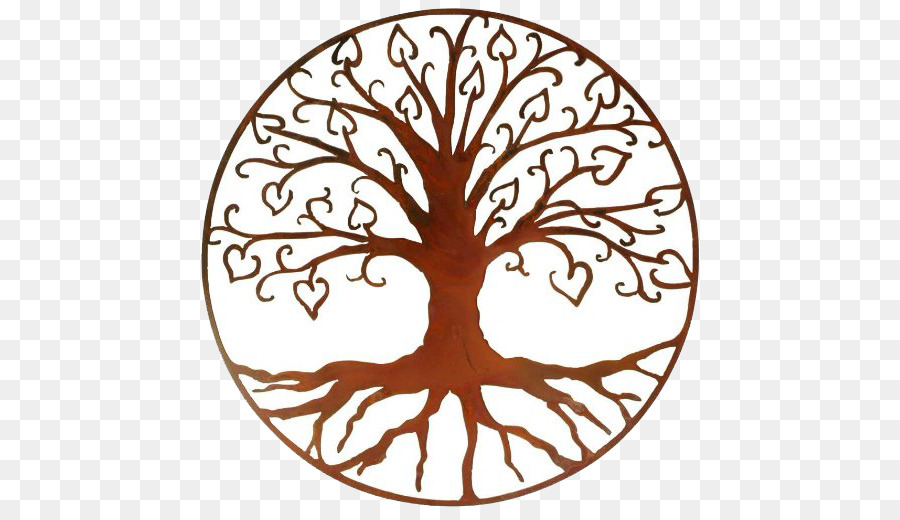 Tree Of Life Wall Decal Metal   Tree
