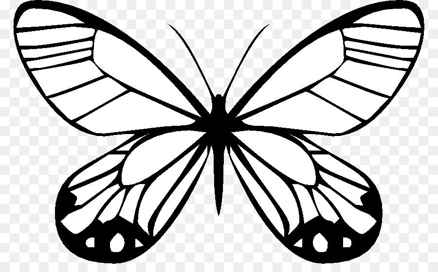 Mariposa de Dibujo de Viaje de las Mariposas para Colorear libro ...
