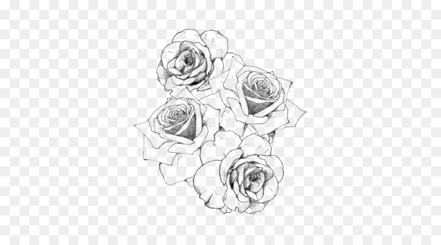 Tattoo Rose Drawing Rose Png Download 500 500 Free Transparent