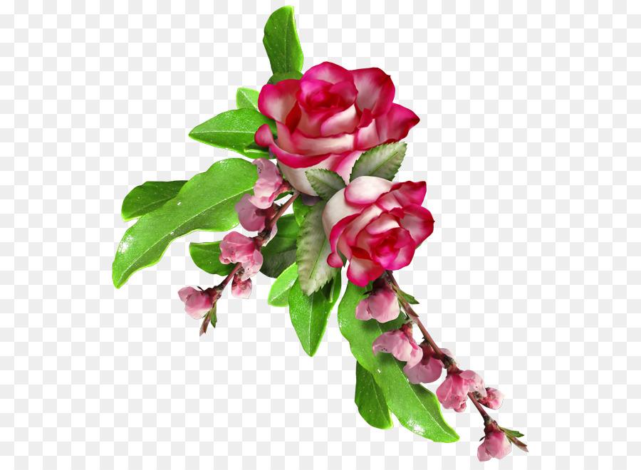 Las rosas de jardín de diseño Floral de la Flor Clip art - flor ...