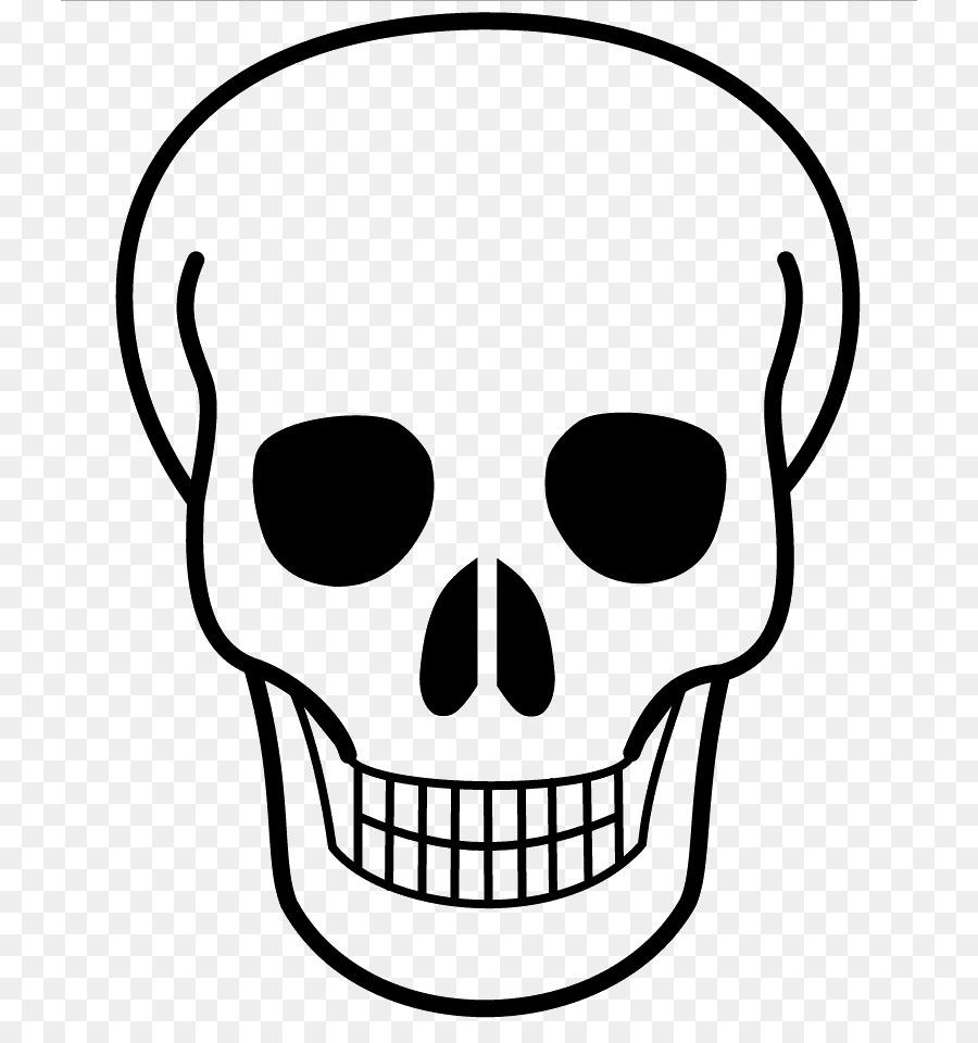 Calavera Cráneo Dibujo Clip art - bien 788*944 transparente Png ...