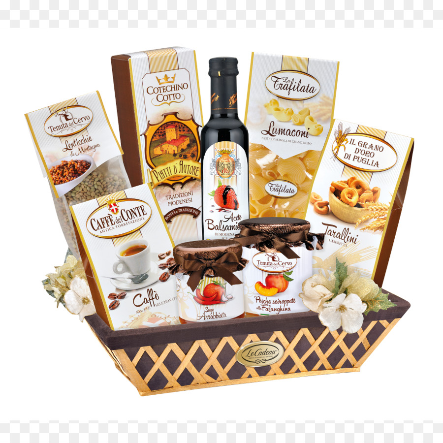Food Gift Baskets Coffee Strenna Christmas - Coffee png download ...