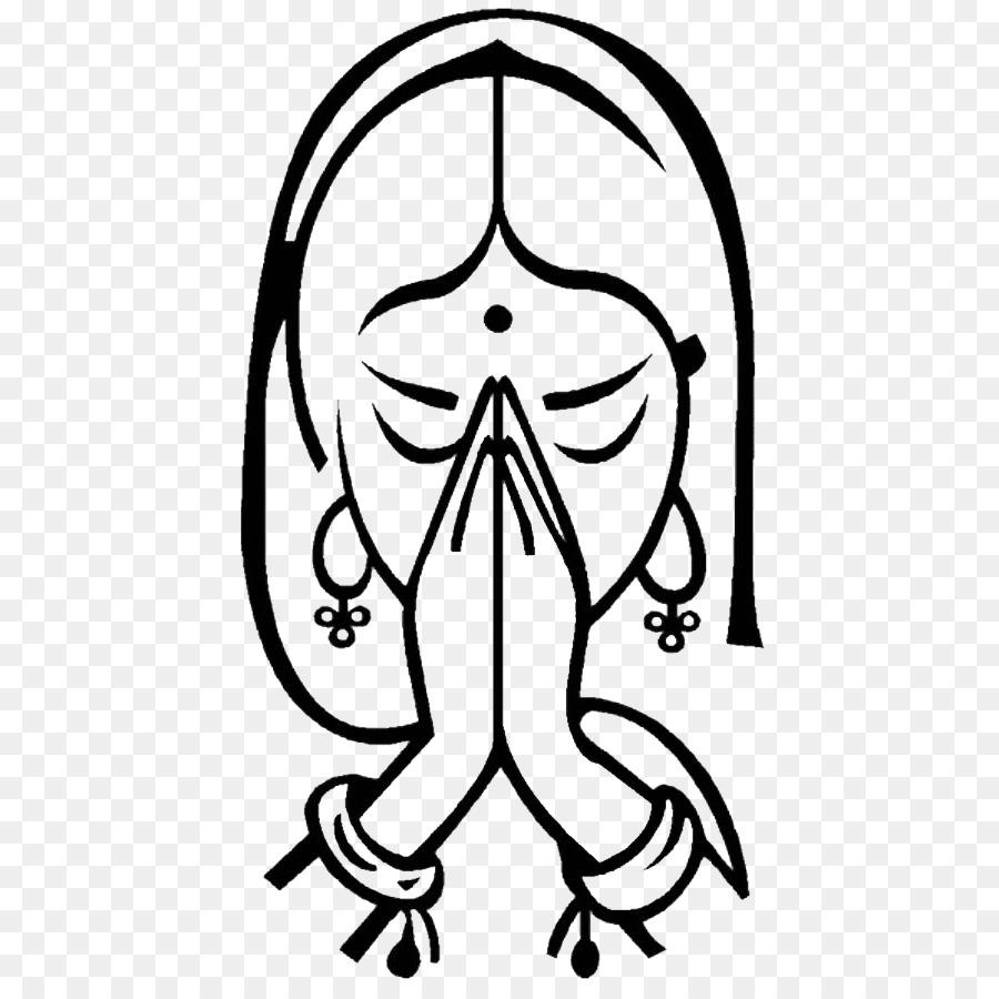 Namaste Symbol Om Yoga Greeting Symbol Png Download 490889