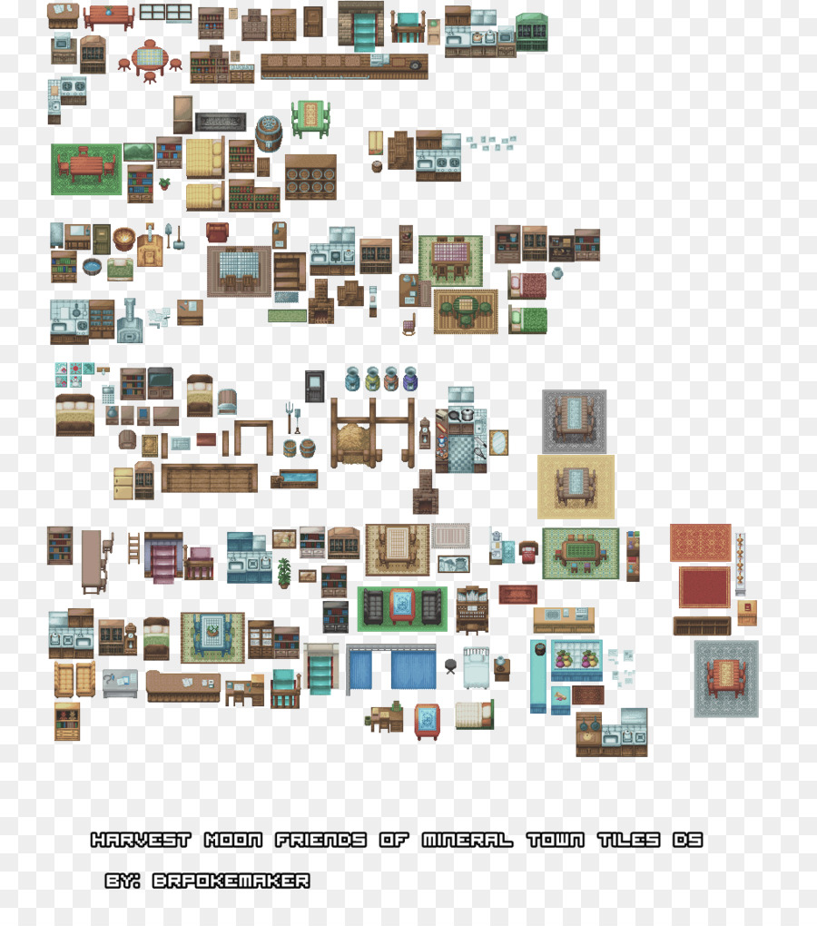 Interior Design Games For Pc Free Download: Table Floor Plan Tile-based Video Game 2D Computer