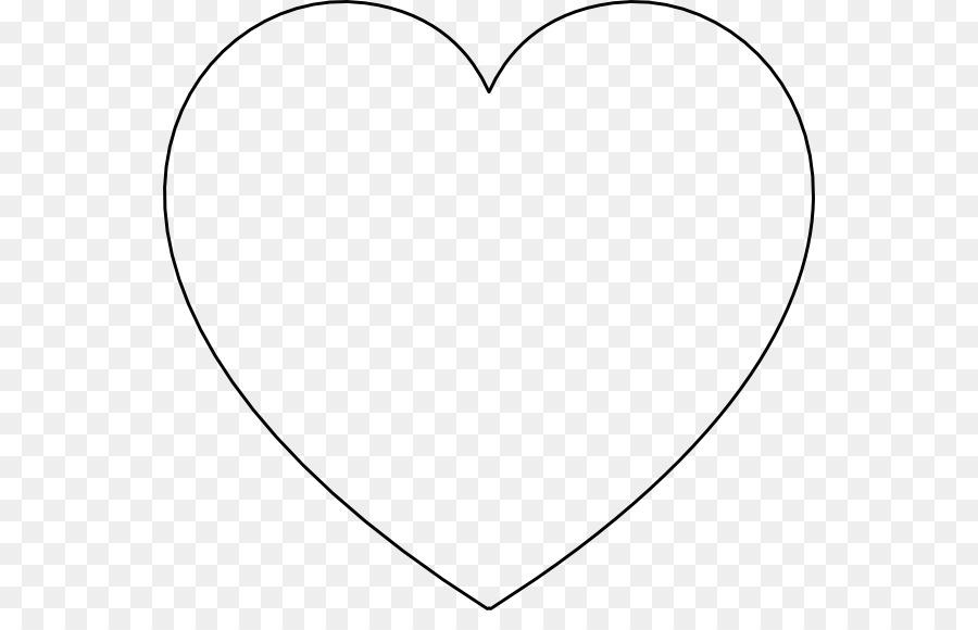 Libro para colorear de Corazón el Día de san Valentín - corazón png ...