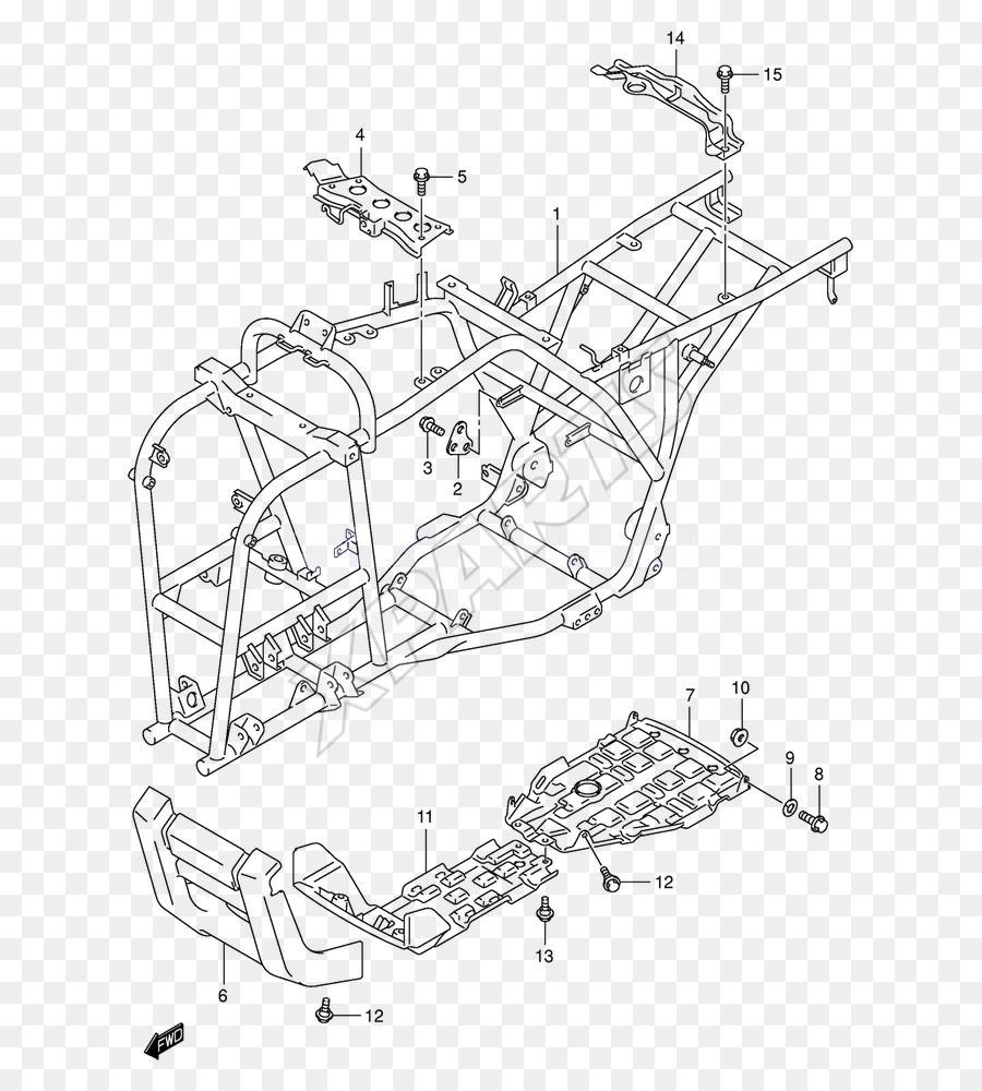 Suzuki Eiger Engine