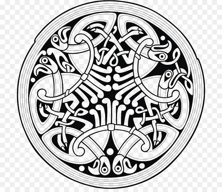 Celtic Knot Ornament Book Of Durrow Book Of Kells Design Png