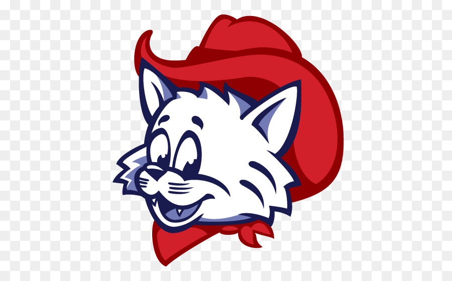 Wilbur And Wilma Wildcat Mascot Logo University Of Arizona Clip Art