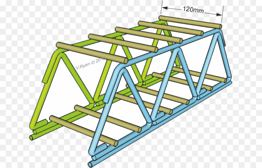 Paper Truss Bridge Building Drinking Straw