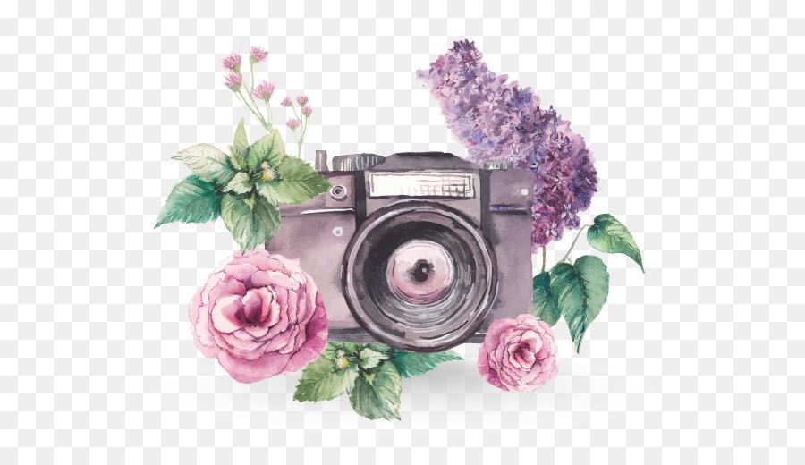 watercolor painting photography camera 674506
