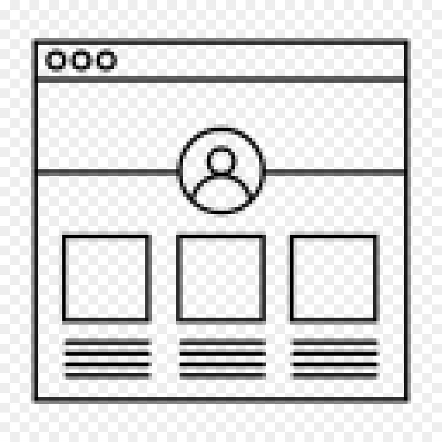 Website wireframe Computer Icons User interface design User ...