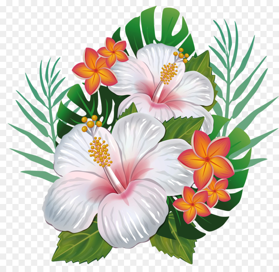 Hawaiian Hibiscus Hawaiian Hibiscus Flower Clip Art Flower Png