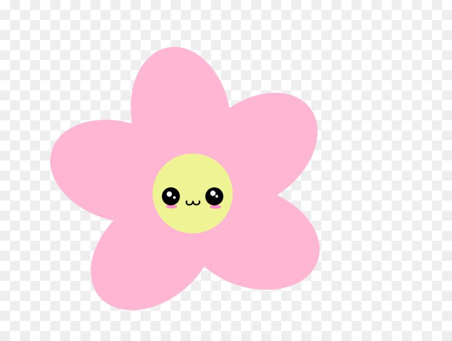Pink Flower Cartoon Png Download 1119 840 Free Transparent Paper