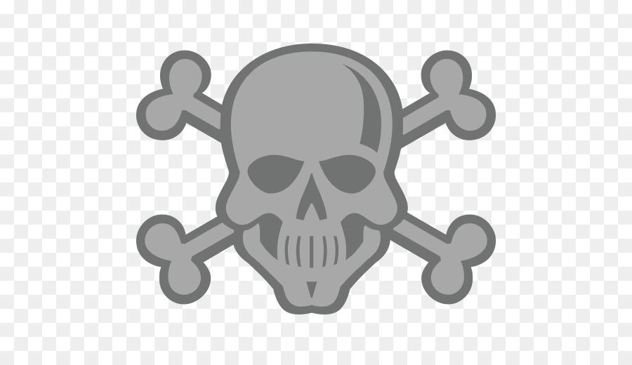 Skull And Bones Skull And Crossbones Symbol Emoji Symbol Png