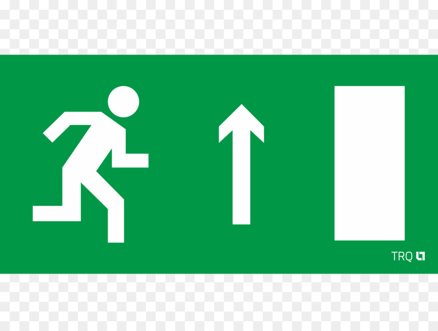 Exit Sign Emergency Exit Symbol Fire Safety Symbol Png
